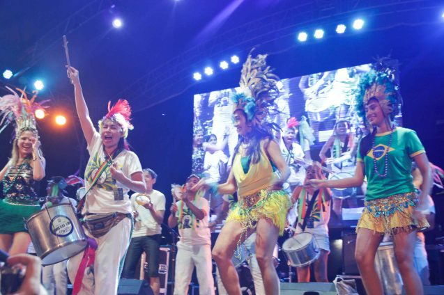 SAMBA SCHOOL IMPERATRIZ FILIPINENSE