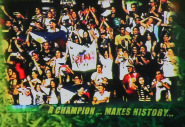 Pinoy fans were behind their AZKALS through out the AFC Challenge Cup.