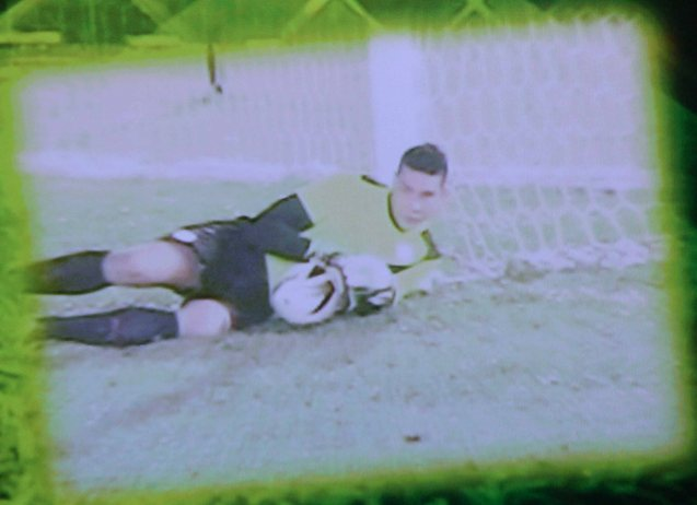 A super save by AZKALS goalie Neil Etheridge during the AFC Challenge Cup.