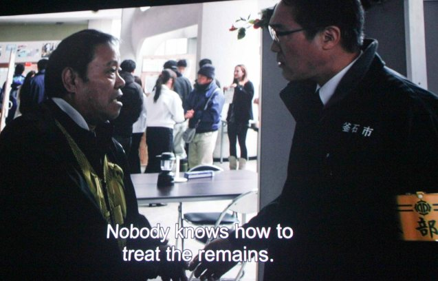 from left: 2 time Japan Academy Award winner Toshiyuki Nishida plays Tsuneo Aiba who volunteers his services to the Mayor played by Shiro Sano. Watch REUNION and many other Japanese films for free at Eiga Sai fest running from July 4 to 13, 2014 at the Shang Cineplex, Shang Rila Plaza Mall.