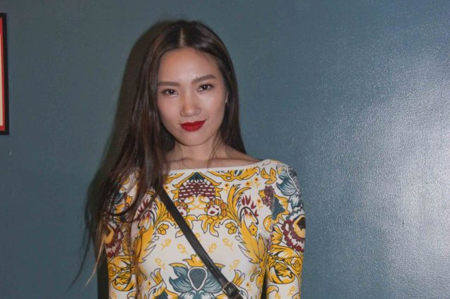 Taiwanese model Jessica Yang has made Manila her home. The 19th French Film Fest will run from June 10-16, 2014 at Greenbelt 3 Cinema 1, tickets are at 100 pesos. Photo by Jude Bautista