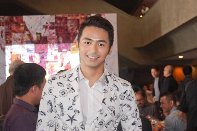 GMA Star Enzo Pineda is in SUNDALONG KANIN. Cinemalaya X running from August 1-10, 2014 in CCP will have satellite venues: Greenbelt, Alabang Town Center, Trinoma and Fairview Terraces. Photo by Jude Bautista.