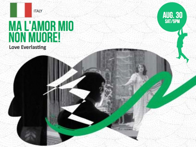 Catch Italy's MA L'AMOR MIO NON MUORE! (Love Everlasting) with Caliph8 & Soprano Fame Flores. Entrance is for free on first come first served basis at the Intl Silent Film Fest at Shang Cineplex, Shang Rila Plaza Mall from Aug 28-31, 2014. Photo by Jude Bautista