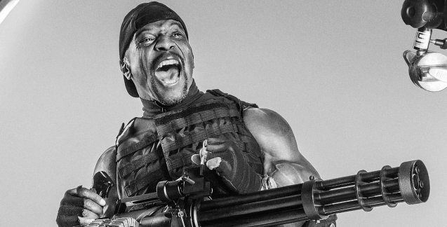 Terry Crews is the funny and intimidating Hale Caesar. Catch EXPENDABLES3 in Resort's World Manila, Eastwood Mall and Lucky Chinatown Mall.