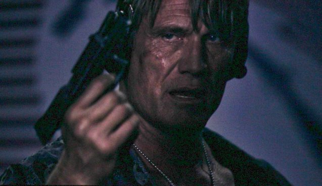 Dolph Lundgren (Gunnar Jensen) in shooting range. Catch EXPENDABLES3 in Resort's World Manila, Eastwood Mall and Lucky Chinatown Mall.