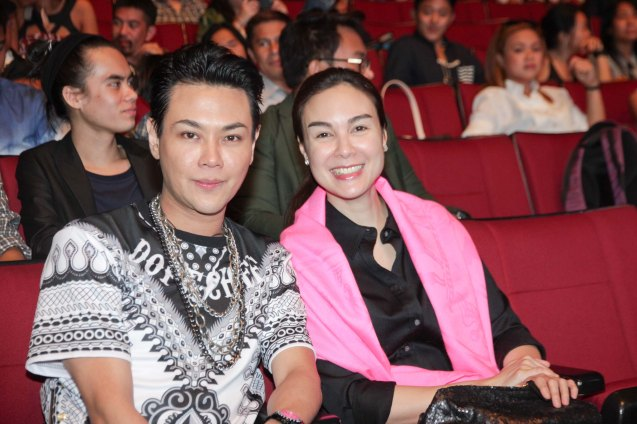 BWAYA producer/actor RS Francisco and Gretchen Barretto during the Cinemalaya X Awards last August 10, 2014 at the CCP. Watch out for Cinemalaya films' commercial release in the coming months. Photo by Jude Bautista