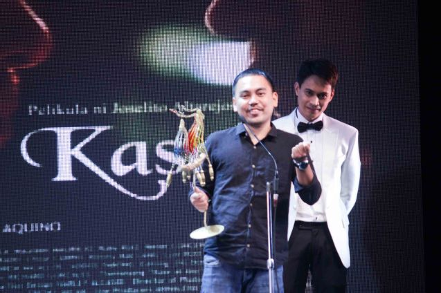 Best Cinematographer Director's Showcase Mycko David KASAL. The Cinemalaya X Awards was held last August 10, 2014 at the CCP. Watch out for Cinemalaya films' commercial release in the coming months. Photo by Jude Bautista