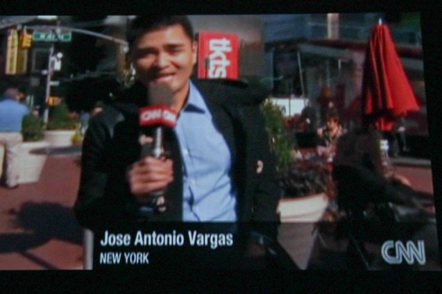 Jose Antonio Vargas was at the pinnacle of journalism having won the Pulitzer Prize, having an exclusive interview w facebook founder Mark Zuckerberg, working for the Washington Post and CNN.