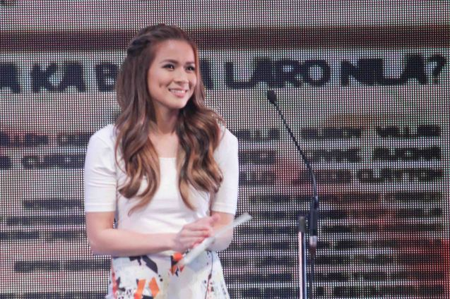 LJ Reyes lit up the screen as Dennis Trillo's loving wife in THE JANITOR. The Cinemalaya X Awards was held last August 10, 2014 at the CCP. Watch out for Cinemalaya films' commercial release in the coming months. Photo by Jude Bautista