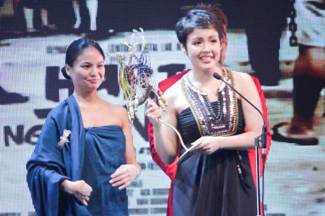 Best Supporting Actress Director's Showcase Cris Villonco HARI NG TONDO. The Cinemalaya X Awards was held last August 10, 2014 at the CCP. Watch out for Cinemalaya films' commercial release in the coming months. Photo by Jude Bautista