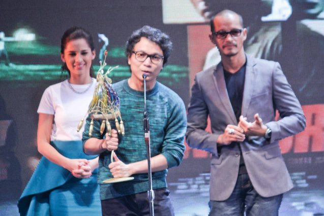 Best Supporting Actor Director's Showcase Nicco Manalo THE JANITOR. The Cinemalaya X Awards was held last August 10, 2014 at the CCP. Watch out for Cinemalaya films' commercial release in the coming months. Photo by Jude Bautista