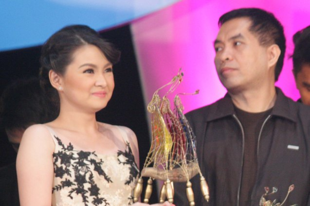 Best Supporting Actress New Breed Barbie Forteza MARIQUINA and Best Screenplay Director's Showcase Aloy Adlawan THE JANITOR. The Cinemalaya X Awards was held last August 10, 2014 at the CCP. Watch out for Cinemalaya films' commercial release in the coming months. Photo by Jude Bautista