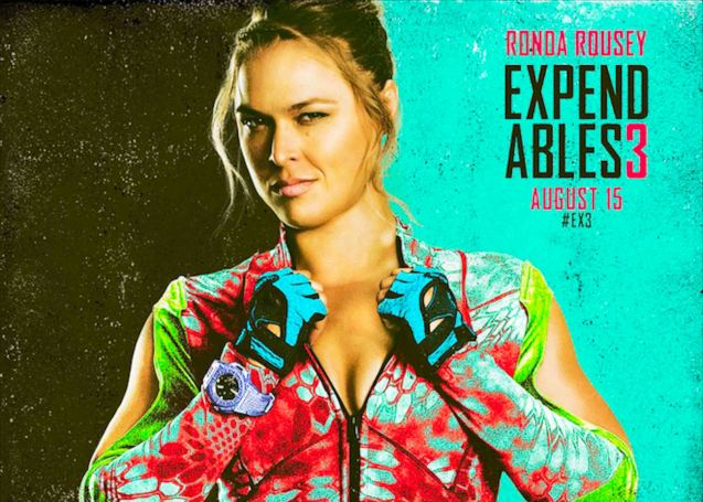Ronda Rousey also has 2 more films FAST & FURIOUS7 and ENTOURAGE both set for 2015. She is also being considered as lead in THE ATHENA PROJECT. Catch EXPENDABLES3 in Resort's World Manila, Eastwood Mall and Lucky Chinatown Mall.