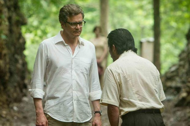 from left: Colin Firth (Eric Lomax) & Hiroyuki Sanada (Takeshi Nagase) THE RAILWAY MAN can be seen in Megaworld Lifestyle Malls such as Resort's World Manila, Eastwood Malls, and Lucky Chinatown Mall starting September 24, 2014.