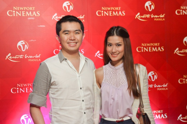 Morgan Say & Janeena Chan. THE RAILWAY MAN can be seen in Megaworld Lifestyle Malls such as Resort's World Manila, Eastwood Malls, and Lucky Chinatown Mall starting September 24, 2014. Photo by Jude Bautista