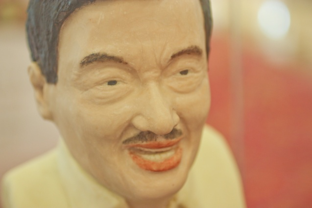DOLPHY made of chocolate prepared by Marriot Chocolatier Chef Christopher Balane. RWM Chocolate fest will run from September 15-30, 2014. Photo by Jude Bautista