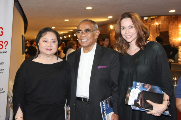 from left: Phil. Italian Association Pres. Zenaida Tantoco, Dr. Joven Cunanang and Artist Sandra Fabie Gfeller. Ballet Philippines' 45th year was celebrated with a special staging of GISELLE from September 19, 20 & 21, 2014 at the CCP Tanghalang Nicanor Abelardo. Photo by Jude Bautista
