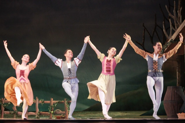 PEASANTS rejoice. Ballet Philippines' 45th year was celebrated with a special staging of GISELLE from September 19, 20 & 21, 2014 at the CCP Tanghalang Nicanor Abelardo. Photo by Jude Bautista