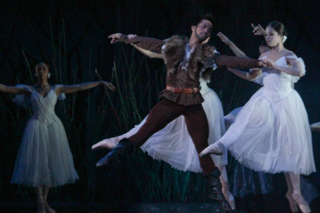 Richardson Yadao is the villainous Hilarion. Ballet Philippines' 45th year was celebrated with a special staging of GISELLE from September 19, 20 & 21, 2014 at the CCP Tanghalang Nicanor Abelardo. Photo by Jude Bautista