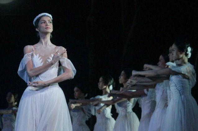 Rita Angela Winder is the leader of the Wilis: Queen Myrtha. Ballet Philippines' 45th year was celebrated with a special staging of GISELLE from September 19, 20 & 21, 2014 at the CCP Tanghalang Nicanor Abelardo. Photo by Jude Bautista