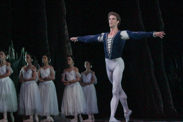 James Whiteside (Albrecht). Ballet Philippines' 45th year was celebrated with a special staging of GISELLE from September 19, 20 & 21, 2014 at the CCP Tanghalang Nicanor Abelardo. Photo by Jude Bautista