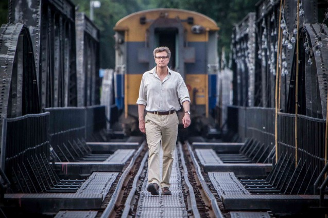Colin Firth (Eric Lomax) on Bridge in Burma. THE RAILWAY MAN can be seen in Megaworld Lifestyle Malls such as Resort's World Manila, Eastwood Malls, and Lucky Chinatown Mall starting September 24, 2014.