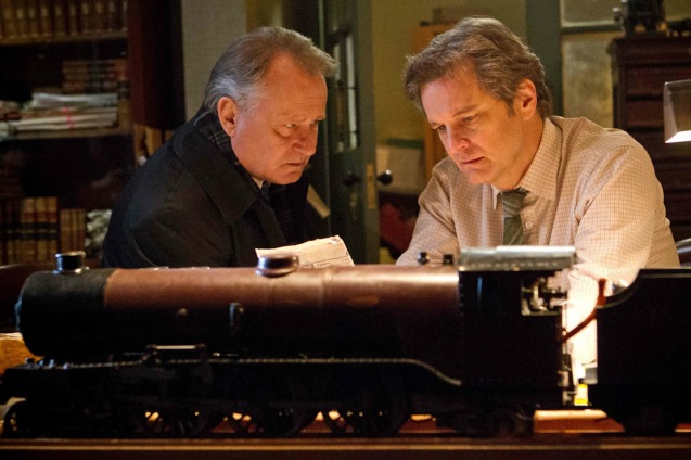 from left: Stellan Skarsgaard (Finlay) & Colin Firth (Eric Lomax). THE RAILWAY MAN can be seen in Megaworld Lifestyle Malls such as Resort's World Manila, Eastwood Malls, and Lucky Chinatown Mall starting September 24, 2014.