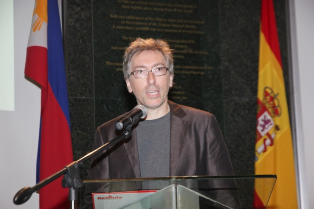 Goya Best Director David Trueba. VIVIR ES FACIL CON LOS OJOS CERRADOS (LIVING IS EASY WITH EYES CLOSED) is one of many films in the PELICULA Spanish film festival running from October 9-19, 2014 at the Greenbelt Cinemas.