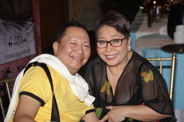 Mla Standard Ent. Editor Isah Red & Vangie Labalan (SIGAW SA HATINGGABI). Catch the HORROR PLUS Film Fest from October 29-Nov.4, 2014 at SM Cinemas. Photo by Jude Bautista