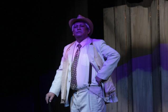 McDonnel Bolaños (Ben). PAHIMAKAS SA ISANG AHENTE (DEATH OF A SALESMAN) of Tanghalang Pilipino runs from September 26 to October 19, 2014 at the Tanghalang Huseng Batute Theater, CCP. Photo by Jude Bautista
