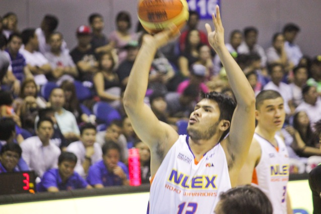 NLEX Road Warrior Eric Camson. Catch PBA games live in SMART ARANETA Coliseum. If not you can watch the PBA's 40th season live airing on TV5 five times a week on TUES, WED and FRI, with the first game at 4:15 p.m. and the second game at 7 p.m.; on SAT at 5 p.m.; and SUN at 3 p.m. and 5 p.m. Photo by Jude Bautista