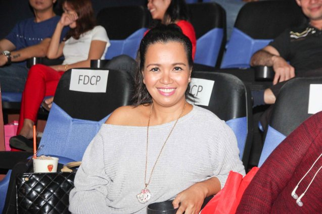 Marife Necesito of BACAO. Catch the HORROR PLUS Film Fest from October 29-Nov.14, 2014 at SM Cinemas. Photo by Jude Bautista