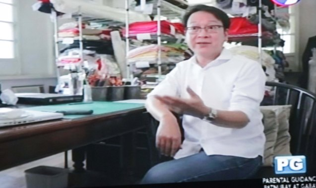 Designer Jojie Lloren is one of Jo Ann's long time mentors and friends. Catch the CNN Philippines produced show GOOD COMPANY on 9TV every Sunday 7pm.