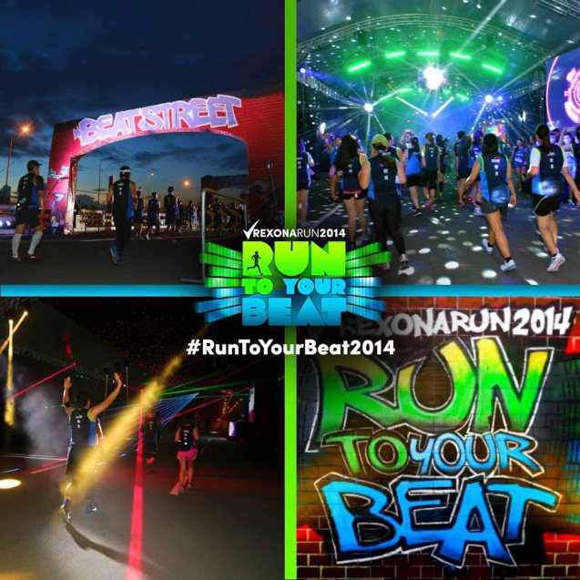 RUN TO YOUR BEAT is the premiere running event in the country Photo from official Rexona Philippines facebook