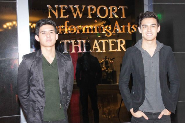 Perkins Twins from left Jesse & Christian nominated for Best New Group. The 27th Awit Awards was held at the Newport Performing Arts Theater, Resort's World Manila last December 12, 2014. Photo by Jude Bautista
