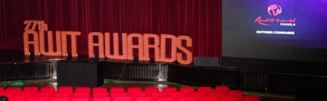 The 27th Awit Awards was held at the prestigious Newport Performing Arts Theater.