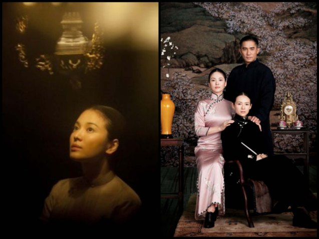 left: Song Hye Kyo, right the two women in Ye Wen's life: from left: Song Hye Kyo (Zhang Yongcheng) and Zhang ZHi Yi (Gong Er). Watch THE GRANDMASTER, animation film THE LEGEND OF KUNG FU RABBIT and other Chinese films for free in Spring Film Festival at Shang Cineplex, Shang Rila Plaza Mall from Feb 13-22, 2015. Photo by Jude Bautista