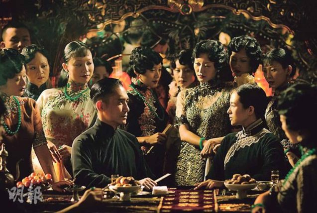 Tony Leung (Ye Wen) & Zhang Zhi Yi (Gong Er) meet in the notorious Jin Luo Opera House. Watch THE GRANDMASTER, animation film THE LEGEND OF KUNG FU RABBIT and other Chinese films for free in Spring Film Festival at Shang Cineplex, Shang Rila Plaza Mall from Feb 13-22, 2015. Photo by Jude Bautista