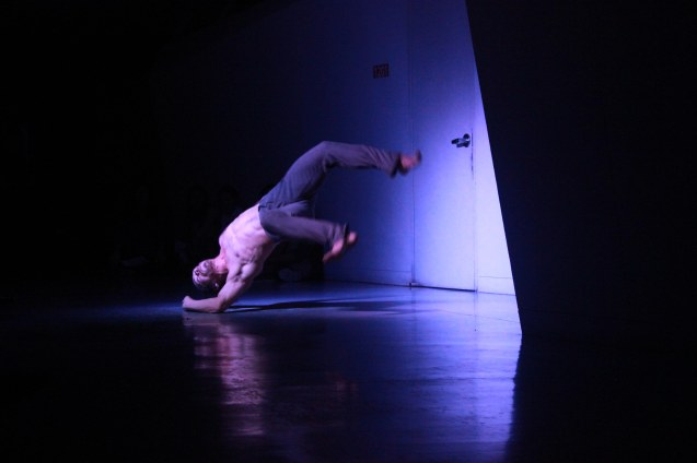 Airdance: Christopher Chan in NGAA, which is part of AIRDANCE INSTALLMENT. FRINGE multi arts festival will run from February 12–March 1, 2015 in CCP, College of St Benilde and many other venues. Photo was taken at the CSB SDA Theater by Jude Bautista.