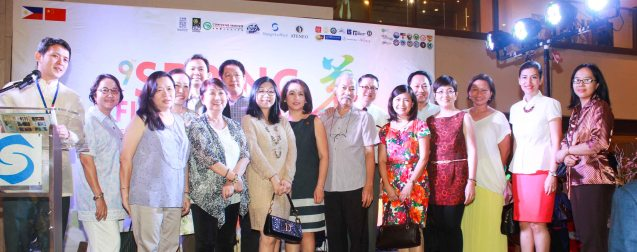 Participants in the Chinese Painting Exhibit. Visit the Chinese painting Exhibit in Shang Plaza mall from February 12-20, 2015. Photo by Jude Bautista