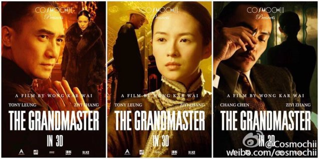 from left: Tony Leung as Ye Wen, Zhang Zhi Yi as Gong Er and Chang Chen as The Razor. Watch THE GRANDMASTER, animation film THE LEGEND OF KUNG FU RABBIT and other Chinese films for free in Spring Film Festival at Shang Cineplex, Shang Rila Plaza Mall from Feb 13-22, 2015. Photo by Jude Bautista