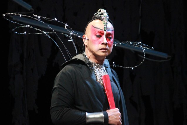 Buddy Caramat (Goneril); Studio Connection's HARING LEAR can be seen at the CSB SDA Theater from February 27 to March 8, 2015. HARING LEAR is also part of the FRINGE MANILA Multi arts festival. Photo by Jude Bautista