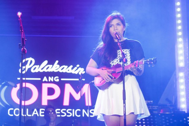 Kai Honasan; PALAKASIN ANG OPM COLLAB Sessions first 12-hour OPM festival was held at the Bonifacio High Street Amphitheatre, Bonifacio Global City Taguig last March 14, 2015. Photo by Jude Bautista