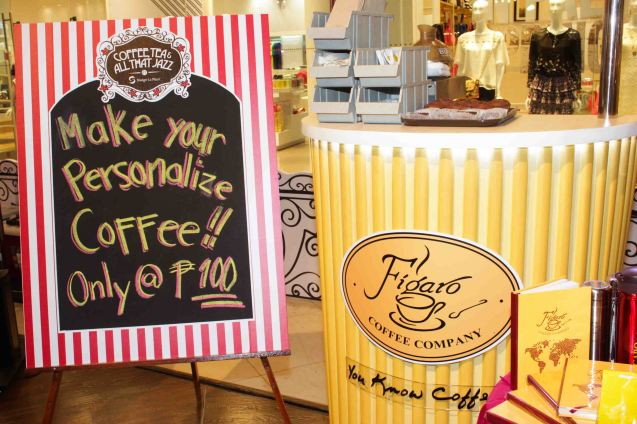 FIGARO; Try out designer coffee and listen to great jazz in COFFEE TEA AND ALL THAT JAZZ AT THE SHANG, East Atrium of the Shangri-La Plaza Mall from March 20-29, 2015. Photo by Jude Bautista