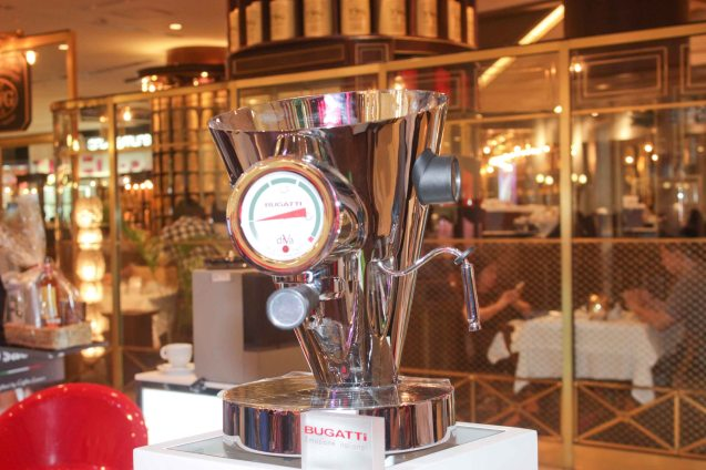 BUGATTI; Try out designer coffee and listen to great jazz in COFFEE TEA AND ALL THAT JAZZ AT THE SHANG, East Atrium of the Shangri-La Plaza Mall from March 20-29, 2015. Photo by Jude Bautista