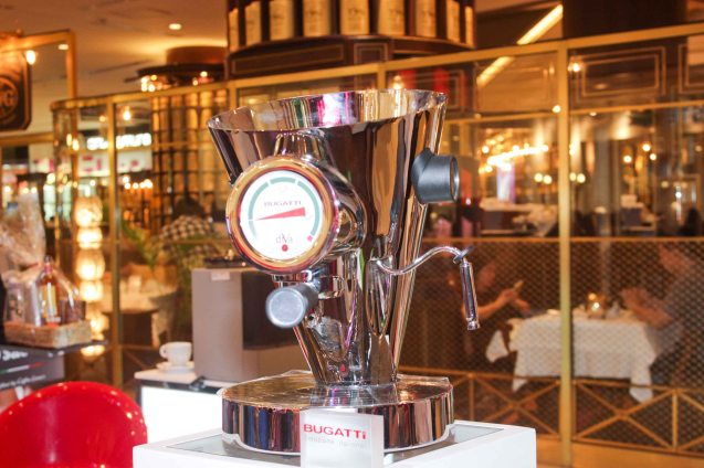 Top brands Bugatti, Bosch, Jura, Saeco and Krups can be purchased in RUSTAN'S ground level Shang Plaza main mall. Try out designer coffee and listen to great jazz in COFFEE TEA AND ALL THAT JAZZ AT THE SHANG, East Atrium of the Shangri-La Plaza Mall from March 20-29, 2015. Photo by Jude Bautista
