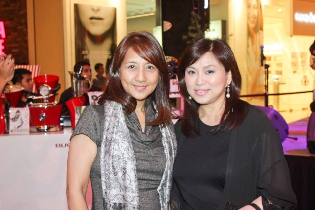 from left: Rustan's Events Mgr Malou Liu & Shang Mktg Head Marline Concio Dualan. Try out designer coffee and listen to great jazz in COFFEE TEA AND ALL THAT JAZZ AT THE SHANG, East Atrium of the Shangri-La Plaza Mall from March 20-29, 2015. Photo by Jude Bautista
