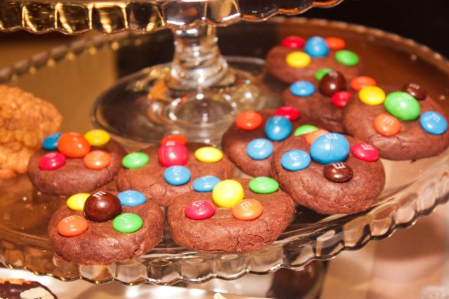M&M cookies from CRAVINGS 5th level Main wing. Try out designer coffee and listen to great jazz in COFFEE TEA AND ALL THAT JAZZ AT THE SHANG, East Atrium of the Shangri-La Plaza Mall from March 20-29, 2015. Photo by Jude Bautista