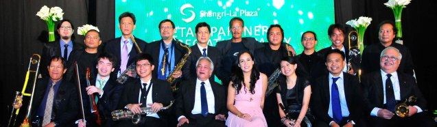 The Executive Band; Try out designer coffee and listen to great jazz in COFFEE TEA AND ALL THAT JAZZ AT THE SHANG, East Atrium of the Shangri-La Plaza Mall from March 20-29, 2015.