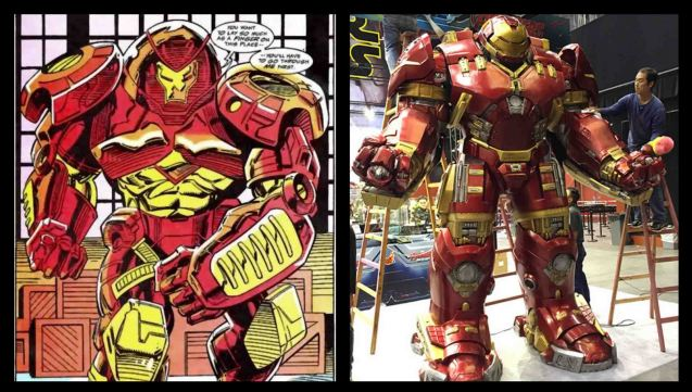from comic book pages to life size Hulkbuster. Catch Avengers Age of Ultron at Newport Cinemas in Resort's World, EASTWOOD City Mall, Lucky China Town Mall and Shang Rila Plaza mall.